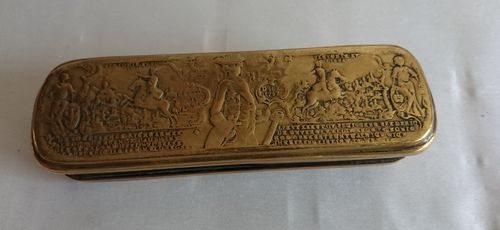 Iserlohner tobacco box, 18th century